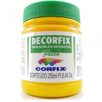 TINTA DECORFIX FOSCA 250 ML 308 AMARELO OURO