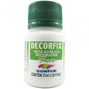 TINTA DECORFIX FOSCA 37 ML 491 BRANCO GELO