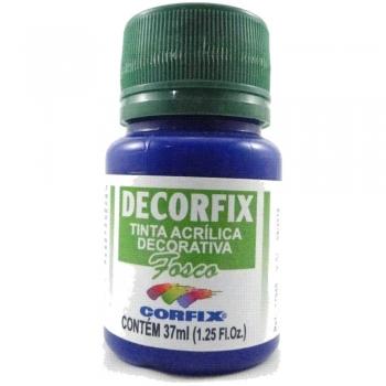 TINTA DECORFIX FOSCA 37 ML 495 AZUL PRIMARIO