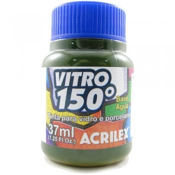 TINTA ACRILEX VITRO 150º 37 ML 513 VERDE MUSGO