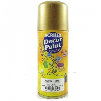 DECOR PAINT 532 OURO 150 ML ACRILEX