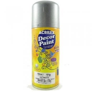 DECOR PAINT 533 PRATA 150 ML ACRILEX