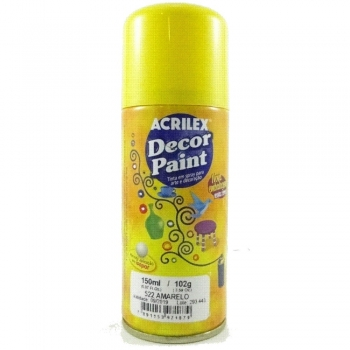 DECOR PAINT 522 AMARELO 150 ML ACRILEX