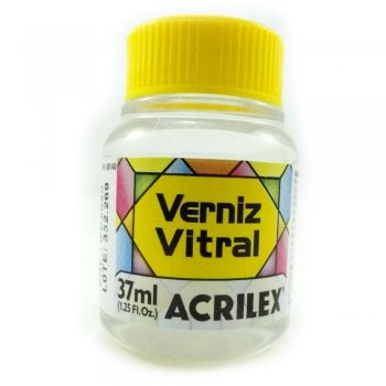 VERNIZ VITRAL ACRILEX 37 ML 500-INCOLOR