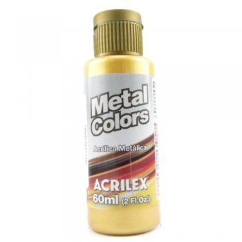 TINTA ACRILICA METAL COLORS 60 ML 532 OURO