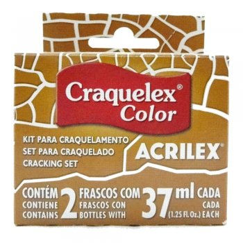 KIT CRAQUELEX COLOR 573 OCRE OURO