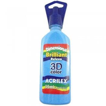 TINTA DIMEN. RELEVO 3D BRILH. 35ML 503  AZUL CELES