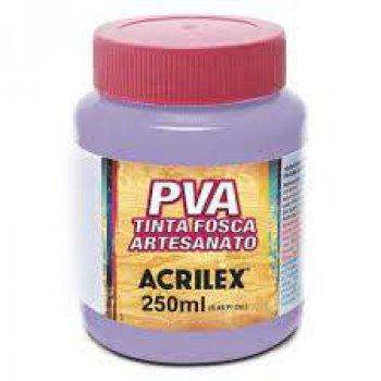 TINTA ACRILEX FOSCA P/ARTES. 250 ML 516 VIOLETA